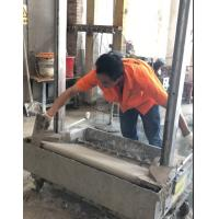 2018 Stainless Steel Render Brick Block Wall Plastering Rendering Machine with Gypsum cement clay morta Manufactures