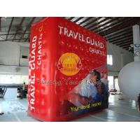 Waterproof Filled helium cube balloon with UV protected printing for Entertainment events Manufactures