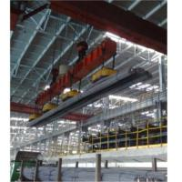 Rectangular Industrial Lifting Magnets , Magnetic Overhead Crane Even Surface Manufactures