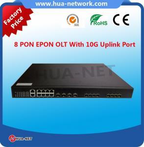 1U 8PON ports ftth fiberhome 10g epon olt modem Manufactures