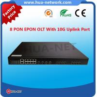 Quality 8pon epon olt with 10G uplink port for sale