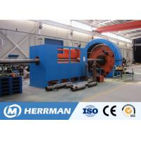 China Reinforced Thermoplastic Pipe Manufacturing Machine For Steel Tape Inter Locking on sale
