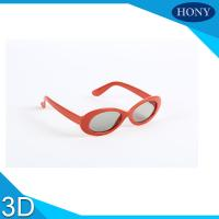 ABS  Plastic Linear / Circular Polarized 3D Glasses For  Movies Manufactures
