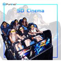 High Speed Movie Recording Equipment , Dynamic 5d Movie Theater Simulator Manufactures