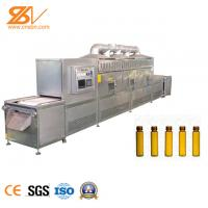 Nutrient Oral Liquid Food Sterilizer Machine With Belt Conveyor Manufactures