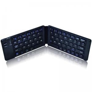 China Power Saving Folding Bluetooth Keyboard Full Size Ultra Slim 1 Year Warranty on sale