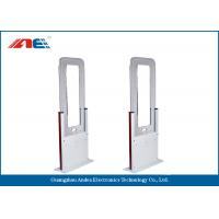 Barrier Free RFID Time And Attendance Gate , RFID Portal Reader Acrylic And Metal Plate Housing Manufactures