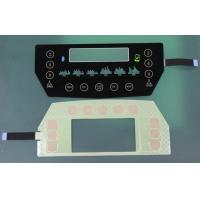 translucent black glass or PET Capacitive Membrane Switches, capacitive touch membrane keypad Manufactures