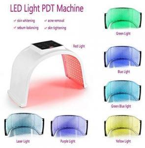 Photon PDT Led Light Face Mask Machine 7 Colors Acne Treatment Face Whitening Skin Rejuvenation Light Therapy