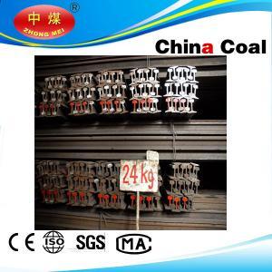 GB standard rail steel, light rail steel from china manufacture