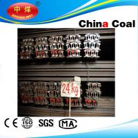 Quality U71Mn/U71 QU70,QU80,QU100,QU120 steel rail crane rail for sale