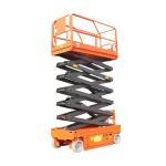 High Strength Steel Scissor Lift Aerial Work Platform For Indoor / Outdoor Construction Manufactures