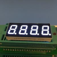 Buy cheap 0.4 Inch Common Anode 7 Segment Display , 4 Digit 7 Segment Numeric Display from wholesalers