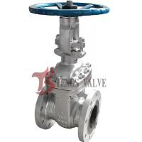Quality Flanged Cast Steel Gate Valve ASTM A216 WCB With Rising Stem RS 150LB for sale
