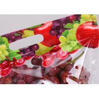 PET / PE Material Stand Up Zipper Bags Resealable Pouches For Grocery Store Manufactures