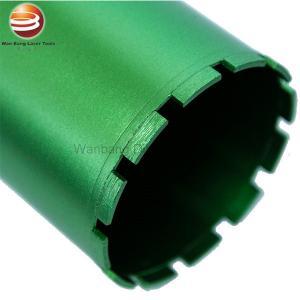 China Fast Drilling Flat Top Segmented Wet Diamond Core Drill Bits on sale