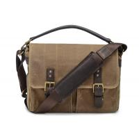 China Waterproof Canvas Messenger Bag , Canvas Briefcase Messenger Bag 12.2 X 11 X 5.1 Cm on sale