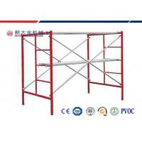 Quality Door - Style Main Steel Walk Through Scaffolding Frame For Building Construction for sale