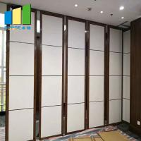 China Dubai Conference Center Acoustic Room Dividers Operable Wall Partition on sale