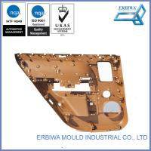 Car Exterior Accessories Plastic Injection Mould Auto Parts Plastic Car Door Parts Manufactures