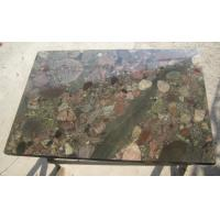 China Exotic Polished Natural Slate Wall Tile , Multi Color Granite Wall Tiles on sale