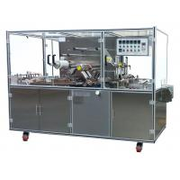 Adjustable Speed Cellophane Packaging Machine , Over Wrapping Machine With Tear Tape Manufactures