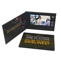 Handmade 7 Inch LCD video greeting card, video gift card ,tv in a card, lcd greeting card with 4 color print Manufactures