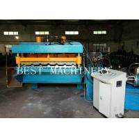 30M/MIN High Speed Roofing Sheet Tile Roll Forming Machine Gear Box Driven