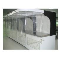 ISO 5 Photoelectric Industrial Laminar Air Flow Cabinet Hood Filtered 220V / 60HZ Manufactures