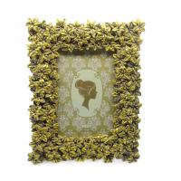 "Blossom Floral Decorative Antique Style Photo Frames Rectangle Widen Border 4x4 "" Manufactures"
