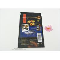 Resealable Snack PET Laminated Aluminum Foil Plastic Packaging Bag Food Grade Smell Proof Reusable