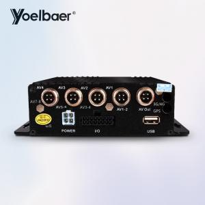 Truck Hybrid SD Mobile DVR Vehicle Car CCTV DVR 4CH Sd Card Video Recorder Manufactures
