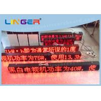 P10 Led Sign Programmable , Electronic Scrolling Sign For Advertisement Manufactures