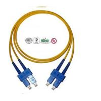 China Customized 12 Core SC Fiber Optic Patch Cord Singlemode Full Duplex on sale