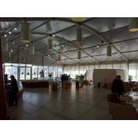 18 Meters Width Polygon Tent , White Aluminum Frame PVC Hexagon Tent With AC Systems Manufactures