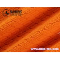 China Hot sell stripping jacquard smooth polar fleece fabric for pajamas fabric and apparel on sale
