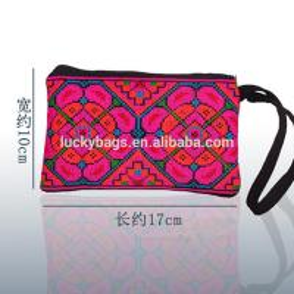 cross stitch fabric embroidery handbag purse ethnic borse hmong bags