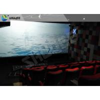 Electric Black / Blue Motion Chair 4D Movie Theater With Simulator System Chair Effect Manufactures