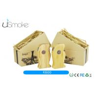 Wooden Vaporizer Kamry Electronic Cigarette K600 2000mah 18650 Battery 510 thread e cig Manufactures