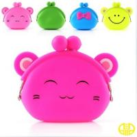 Fancy Cute Silicone Changes Purse For Small Coins , Lightweight Manufactures