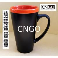 Quality Export 8208 beer ceramic mug with handle Certificate of SGS/CE/ROHS test custom for sale