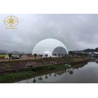 Snow Load Geodesic Dome Tent Steel Structure For Fashion Show Exhibition Manufactures