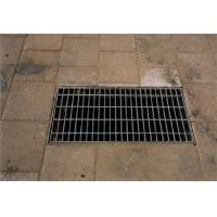 Heavy Duty Floor Drain Grate Covers , Stainless Steel Galvanised Drain Cover Manufactures
