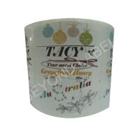 China Clear Plastic Adhesive Labels With Transparent Vinyl Material on sale