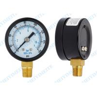 2 Inch Craftsman tire pressure gauge with black steel , brass Material Manufactures