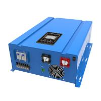 China Low Frequency Solar Based Inverter , Blue / Yellow Solar Power System Inverter on sale