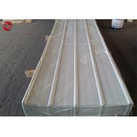 China 0.12×1250mm Colour Coated Cold Rolled Steel / PPGI Roofing Sheet 0.12-0.2mm Thickness on sale
