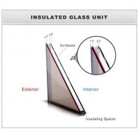 Facade glass, double pane windows, with laminated outer pane, sound dampening pane Manufactures