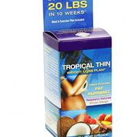 Tropical Thin Slimming Capsule Weight Loss Plan traditional Lose Weight Slimming for Promote Fat Burning Manufactures
