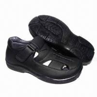 Children's school shoes with PU upper and PU injection outsole Manufactures
